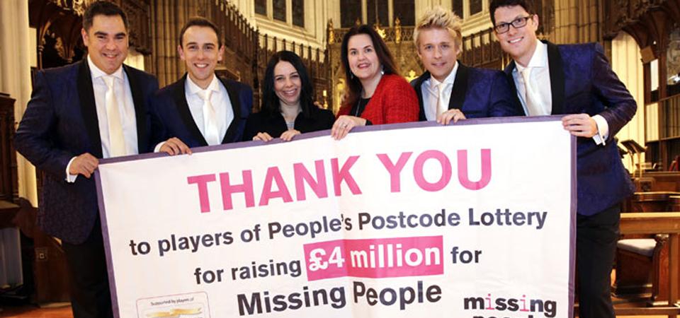 People's Postcode Lottery funding